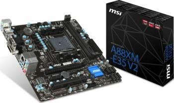 Placa de baza MSI A88XM-E35 V2 Socket FM2+