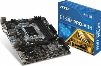 Placa de baza MSI B150M PRO-VDH Socket 1151
