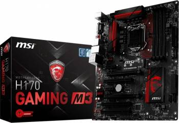 Placa de baza MSI H170 GAMING M3 Socket 1151