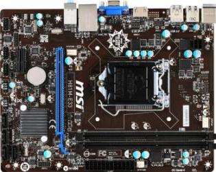 Placa de baza MSI H81M-E33 Socket 1150 Placi de baza
