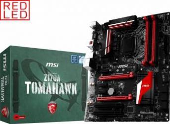Placa de baza MSI Z170A Tomahawk Socket 1151