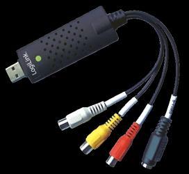 Placa de Captura Audio-Video LogiLink VG0001 USB TV Tunere
