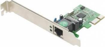 Placa de retea Gembird Gigabit PCI-Express card Placi de retea