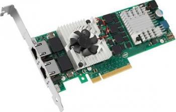 Placa de retea Server Intel X520-T2 10 Gigabit PCI-E 2.0 Placi de retea Server