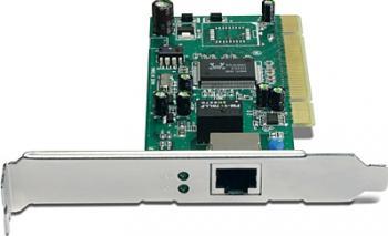 Placa de retea Trendnet Gigabit 101001000Mbps PCI TEG-PCITXR Placi de retea