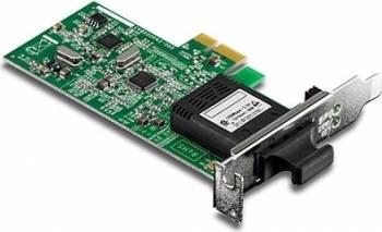 Placa de retea Trendnet TE100-ECFXL SC Fiber PCIe Placi de retea