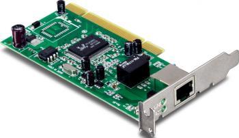 Placa de retea TRENDnet TEG-PCITXRL Placi de retea
