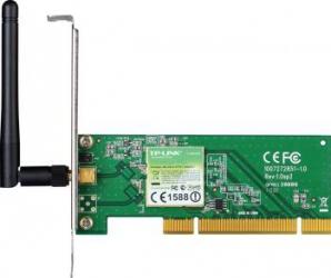 Placa de retea Wireless PCI TP-LINK 150Mbps 2.4GHz Wireless