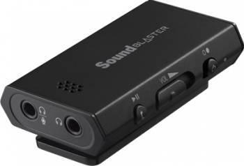 Placa de sunet Creative Sound Blaster E1 7.1 USB 3.0 Placi de sunet
