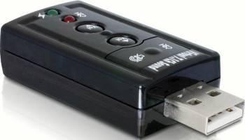 Placa de sunet DeLock 7.1 USB 2.0 Placi de sunet