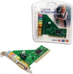 Placa de Sunet Logilink 5.1 PC0027B PCI