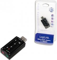 Placa de Sunet Logilink 7.1 UA0078 USB Placi de sunet