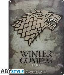 Placa decorativa AbyStyle Game of Thrones Stark 28x38  Accesorii bucatarie