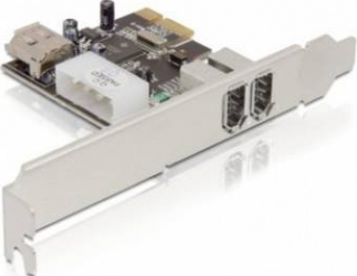 Placa PCI Express Firewire Delock A 2+1 PORT Accesorii