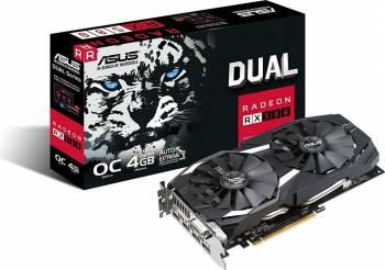 Placa video ASUS Radeon DUAL RX 580 OC 4GB GDDR5 256bit Placi video