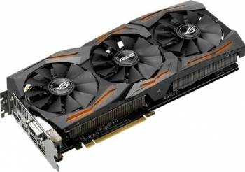 Placa video Asus GeForce GTX 1070 ROG Strix 8GB DDR5 256Bit