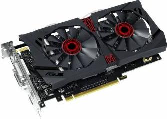 Placa video Asus GeForce GTX 950 Strix DirectCU II OC 2GB DDR5 128Bit Bonus Mouse Pad A4Tech X7-200MP