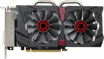 Placa video Asus Radeon R7 370 Strix OC Gaming 2GB DDR5 256Bit Bonus Mouse Pad A4Tech X7-200MP