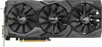 Placa video Asus Radeon RX 480 Strix OC 8GB GDDR5 256bit