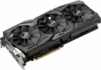 Placa Video Asus Radeon Rx 580 Rog Strix Oc 8gb Gd
