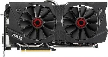 Placa video Asus Strix GeForce GTX 980 DirectCU II OC 4GB DDR5 256Bit Bonus Mouse Pad A4Tech X7-200MP + Mouse A4Tech Bloody Gaming