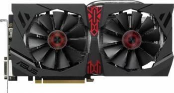 Placa video Asus Radeon R9 380 Strix OC DirectCU II 4GB DDR5 256Bit Bonus Mouse Pad A4Tech X7-200MP