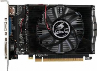 Placa video Colorful GeForce GT 730 1GB DDR3 64bit Placi video