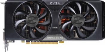 pret preturi Placa video EVGA GeForce GTX 760 FTW ACX Cooler 4GB DDR5 256 Bit