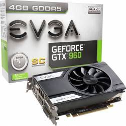 Placa video EVGA GeForce GTX 960 SC 4GB DDR5 128Bit