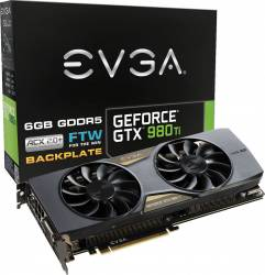 Placa video EVGA GeForce GTX 980 Ti FTW ACX 2.0+ 6GB DDR5 384Bit