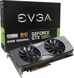 Placa video EVGA GeForce GTX 980 Ti SC ACX 2.0+ 6GB DDR5 384Bit
