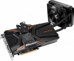 Placa video Gigabyte Aorus GeForce GTX 1080Ti Waterforce Xtreme Edition 11GB GDDR5X 352bit Placi video