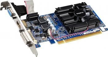 Placa Video Gigabyte GeForce 210 1GB 64bit PCIE 2.0 v6 Placi video