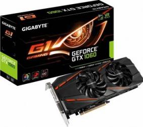 Placa video Gigabyte GeForce GTX 1060 G1 Gaming 6GB GDDR5 192bit Placi video