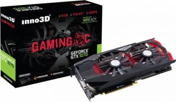 Placa video Inno3D GeForce GTX 1070 Gaming OC 8GB GDDR5 256bit