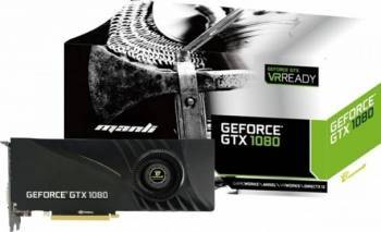 Placa video Manli GeForce GTX 1080 8GB GDDR5X 256bit Placi video