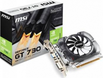 Placa video MSI GeForce GT 730 4GB DDR3 128Bit V2 Placi video