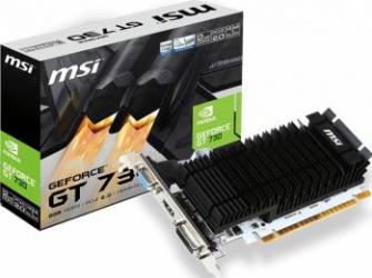 Placa video MSI GeForce GT 730K 2GB DDR3 LP 64Bit Placi video