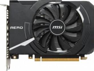 Placa video MSI GeForce GTX 1050Ti AERO ITX OC 4GB GDDR5 128bit Placi video