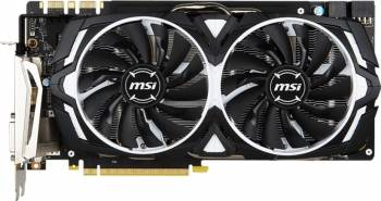 Placa video MSI GeForce GTX 1080 ARMOR 8GB OC GDDR5X 256bit