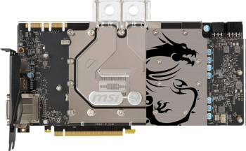 Placa video MSI GeForce GTX 1080 Sea Hawk EK X 8GB DDR5X 256bit