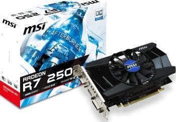 Placa video MSI Radeon R7 250 OC 2GB DDR3 128Bit V1 Placi video