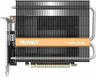 Placa video Palit GeForce GTX 1050Ti KalmX 4GB GDDR5 128bit Placi video