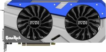 Placa video Palit GeForce GTX 1070 GameRock 8GB DDR5 256bit Placi video