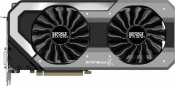 Placa video Palit GeForce GTX 1070Ti Super Jetstream 8GB GDDR5 256bit Placi video