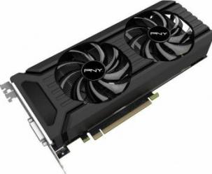 Placa video PNY GeForce GTX 1060 Dual Fan 6GB GDDR5 192bit Placi video