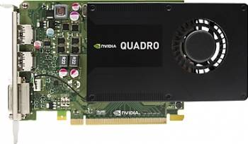 Placa video profesionala HP NVIDIA Quadro K2200 4GB DDR5 128Bit Placi video