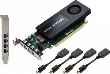 Placa video profesionala PNY NVIDIA Quadro K1200 DP 4GB DDR5 128Bit Low Profile Placi video