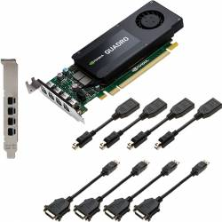 Placa video profesionala PNY NVIDIA Quadro K1200 DVI 4GB DDR5 128Bit Low Profile Placi video