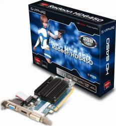 Placa video Sapphire Radeon HD6450 1GB DDR3 64Bit Bulk Placi video